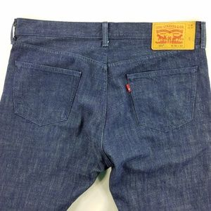 Levi Strauss Levis 501 White Oak  Buttonfly Jeans